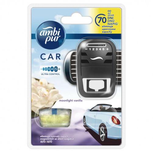 AMBI PUR, Osvežilec zraka za avtomobile VANILLA (keszülek 7ml)