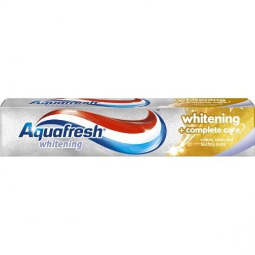 AQUAFRESH ZOBNA PASTA WHITENING + COMPLETE CARE, 125 ml
