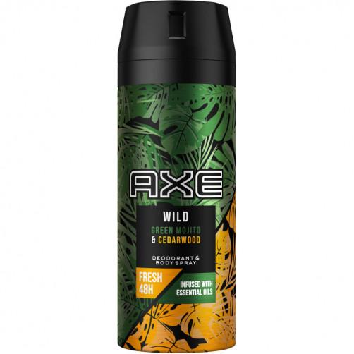 AXE DEO WILD Green Mojito & Cedarwood, 150ml C50531