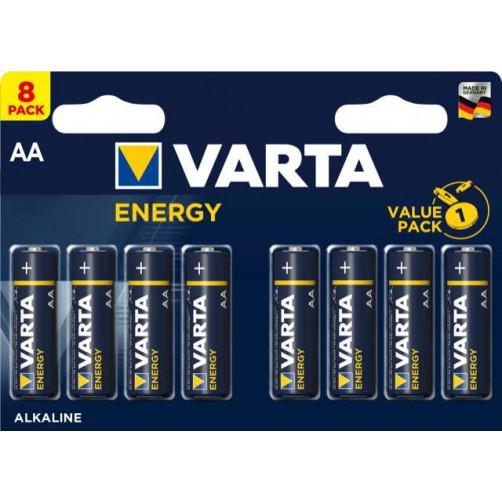 VARTA ENERGY AA, 8 kosov