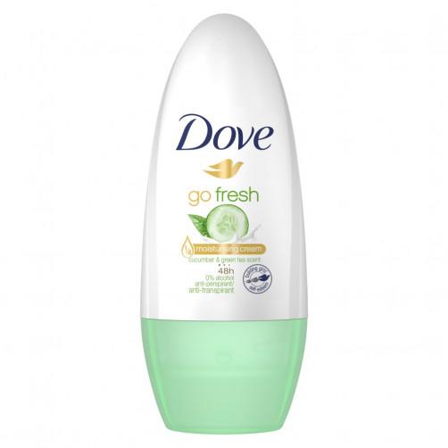 Dove dezodorant roll-on Go fresh, Cucumber&Green Tea, 50ml ženski