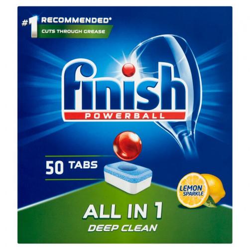 Finish tabs ALL in 1 MAX, 50 LEMON