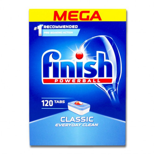 FINISH POWERBALL CLASSIC 120 tablet