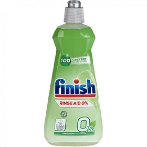 FINISH RINSE AID ZERO 0% sredstvo za izpiranje posode, 400ml