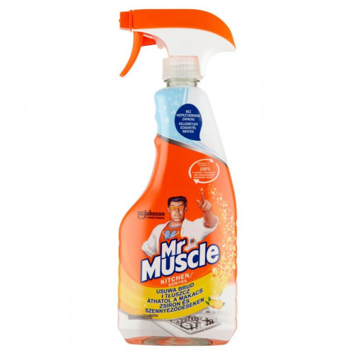 MR. MUSCLE ČISTILO ZA KUHINJO, LEMON, 500ml C53157