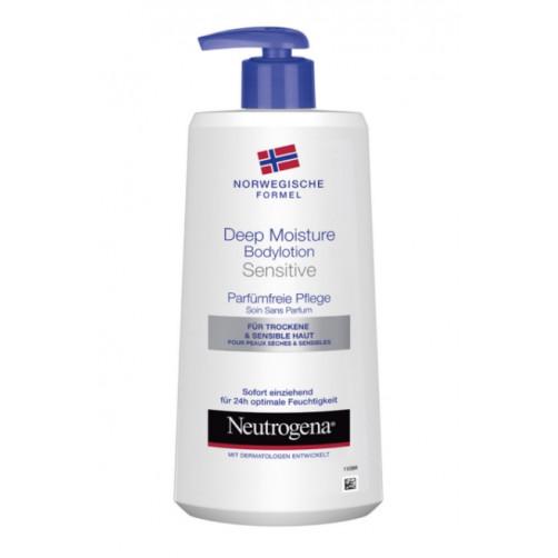 NEUTROGENA LOSJON DEEP MOISTURE za suho in občutljivo kožo , 400ml C52482