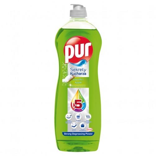 Detergent za pomivanje posode PUR Cook Secrets APPLE 750ml