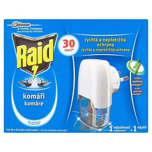 RAID ELEKTRIČNI APARAT + tekoče polnilo, ORIGINAL 21 ml C37380