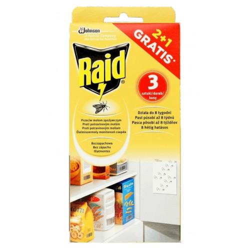 RAID LISTIČI za živilske molje, 3 kos C37385