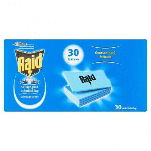 RAID tablete za električni aparat za odganjanje komarjev, 30 kos