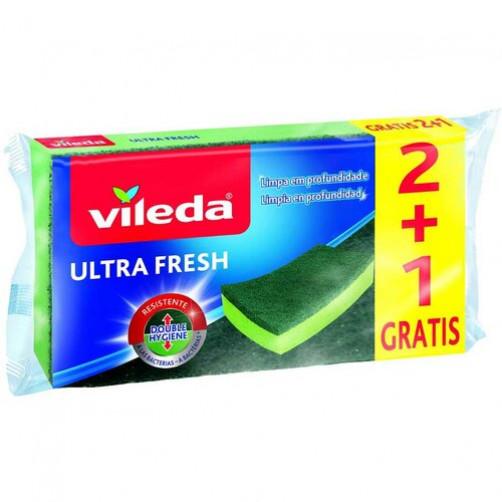 VILEDA GOBICA ZA POMIVANJE POSODE ULTRA FRESH 2+1   C38816